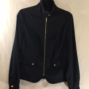 Jones New York Signature Jacket Size 10 Blue